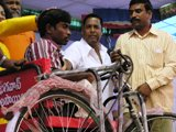 distribution of tricycles for poor people